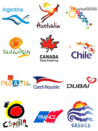 Tourism Country Logos