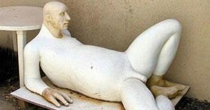 Strange sculpture