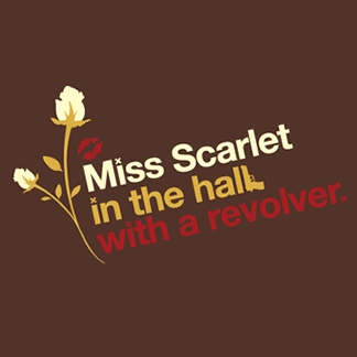 Miss Scarlet in the Hall with a Revolver